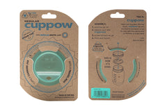 Cuppow drinking lid regular mouth mint sipping lid