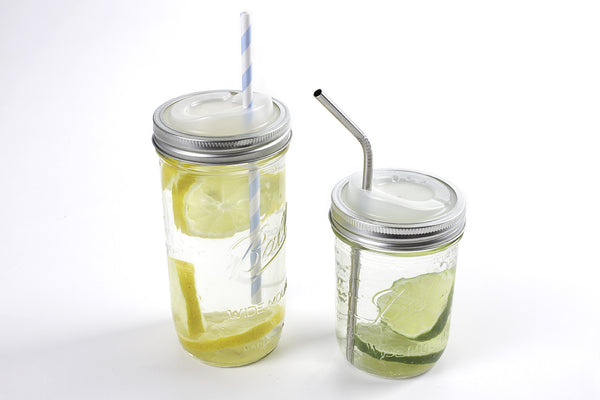 Cuppow Mason Jar Drinking Lid and Ball Jar Combo Gift Pack