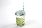 Cuppow Mason Jar Drinking Lid Wide Mouth Mint Made in USA from Recycled Plastic