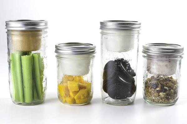 Mason Jar Lunch Box with BNTO by Cuppow