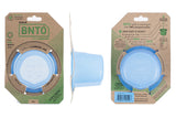 cuppow bnto mason jar lunchbox adaptor wide mouth 6 oz blue