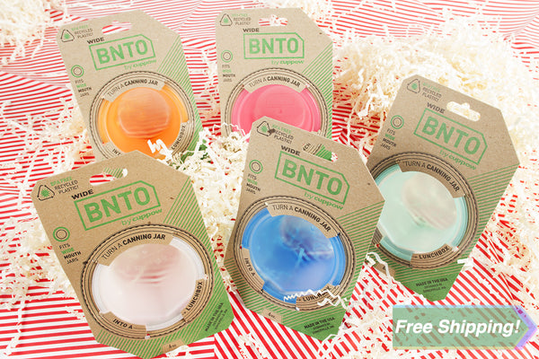 BNTO Charity Mix Pack! 5pc Gift Pack - Wide Mouth