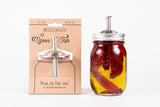 Wholesale - The Mason Tap - Stainless Steel Infuser Cap - Regular Mouth - Case of 12