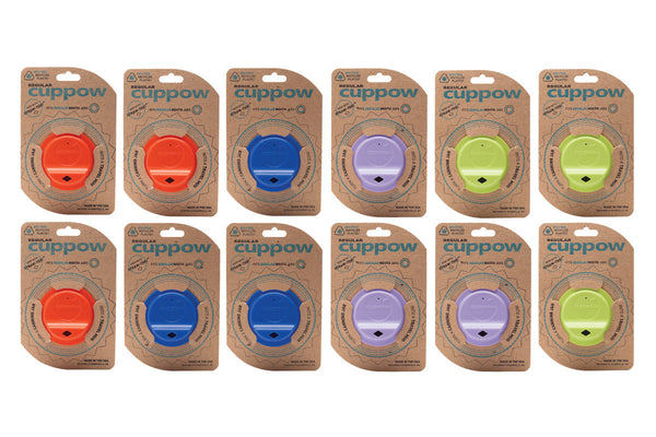 Wholesale Cuppow Mixed Case Colors Mason Jar Drinking Lids