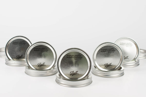 Wide Mouth - Canning Jar Lids and Bands