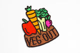 Cuppow X Mokuyobi Threads Patch - Veg Out