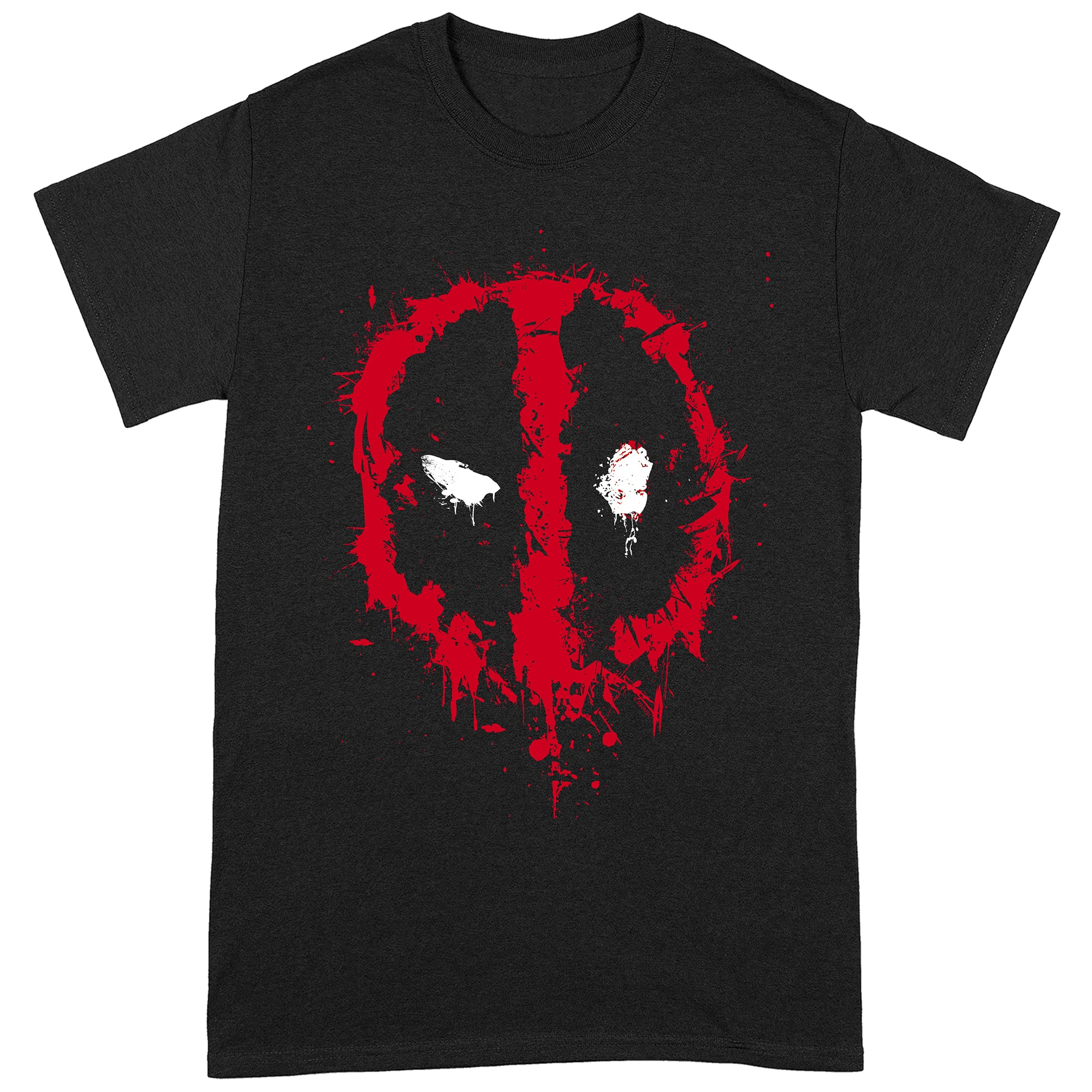 Deadpool Splat Face T-Shirt