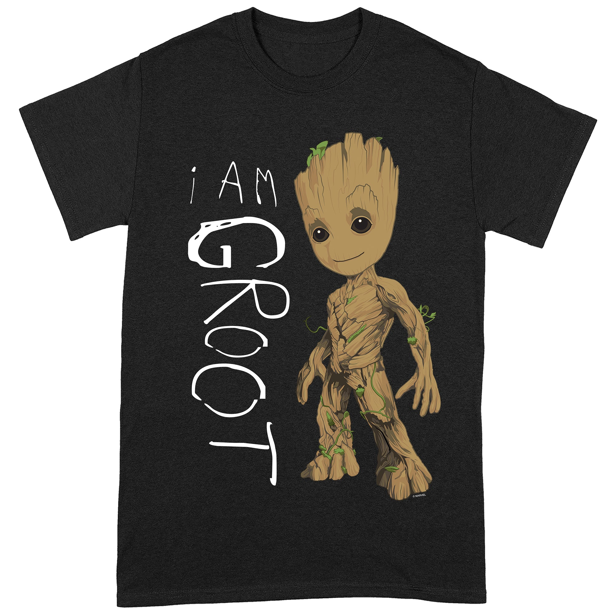 Guardians Of The Galaxy Vol.2 I Am Groot Scribbles T-Shirt