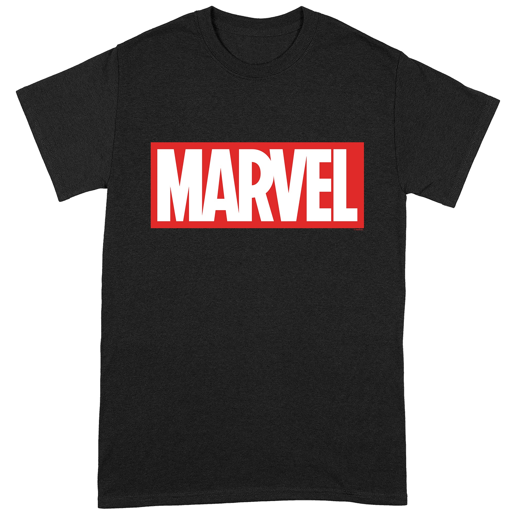 Marvel Logo Black T-Shirt