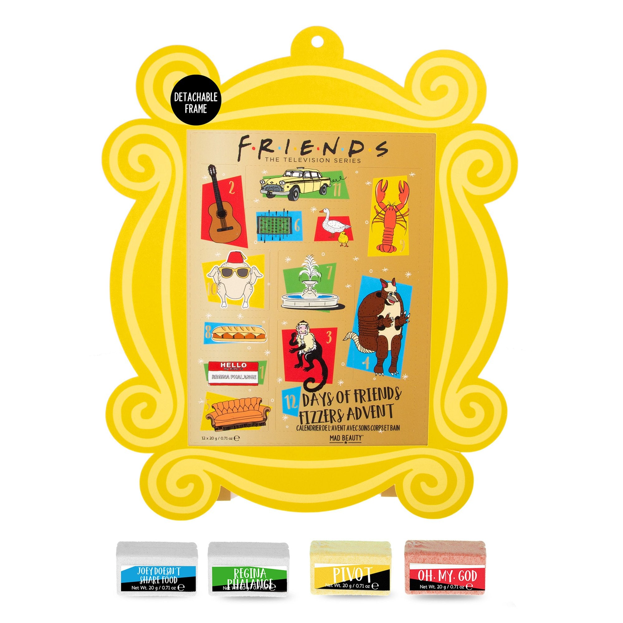 Friends 12 Day Advent Calendar