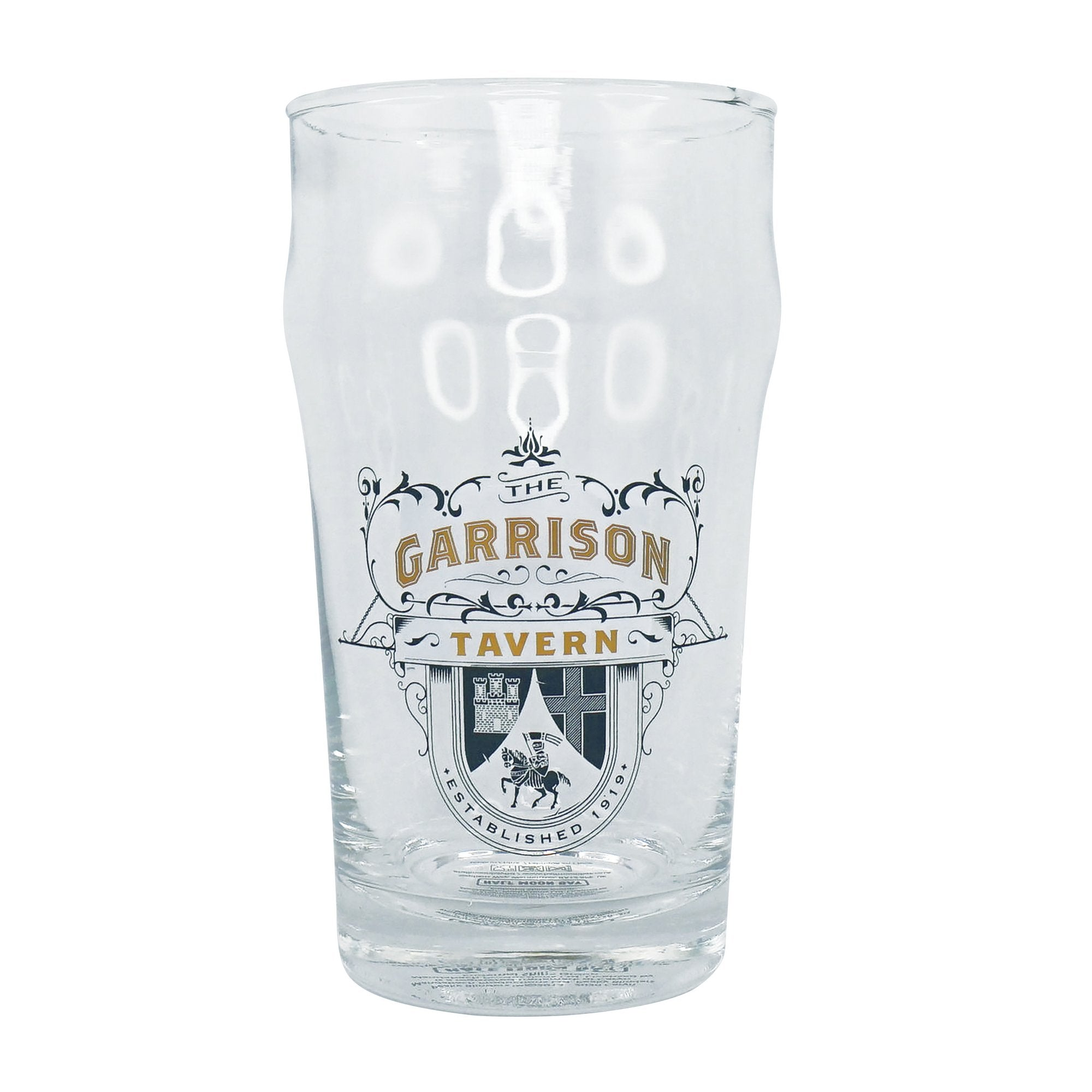 Peaky Blinders Glass - Garrison Tavern