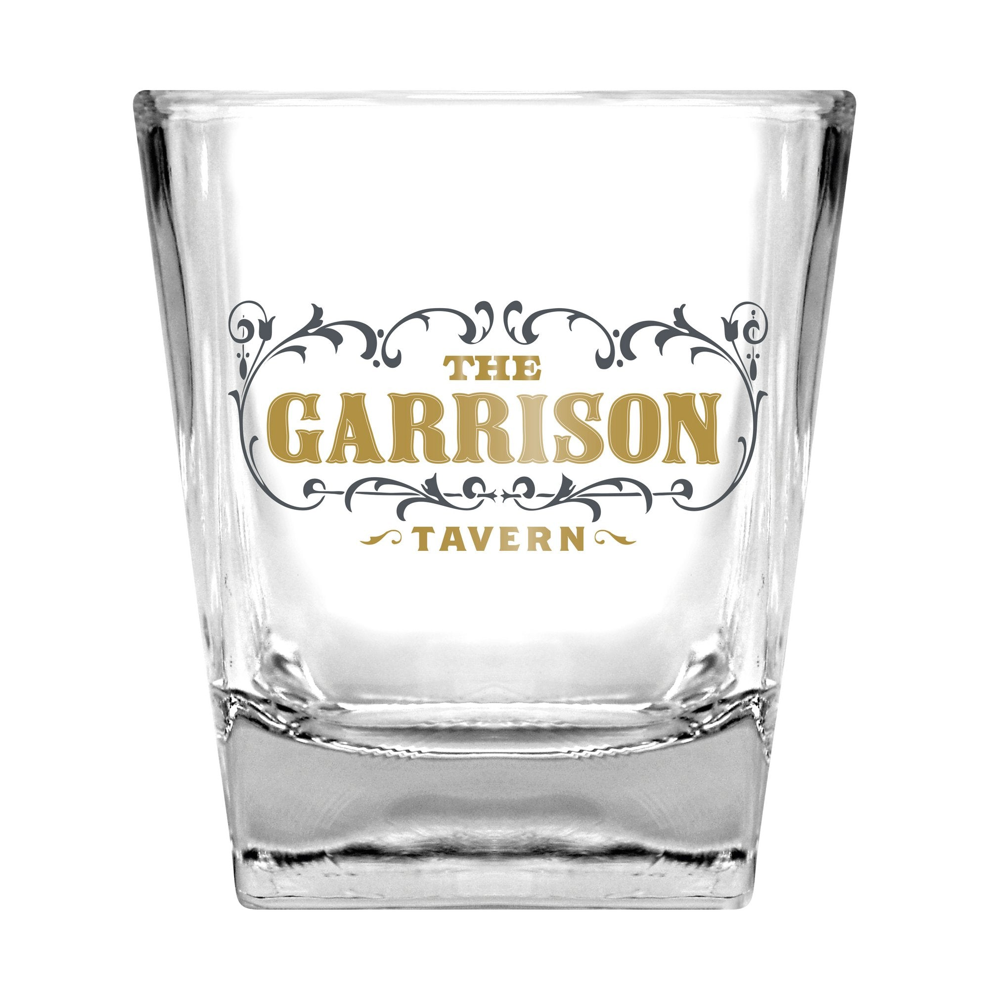 Peaky Blinders Drinking Glass & Stones Set -  Garrison