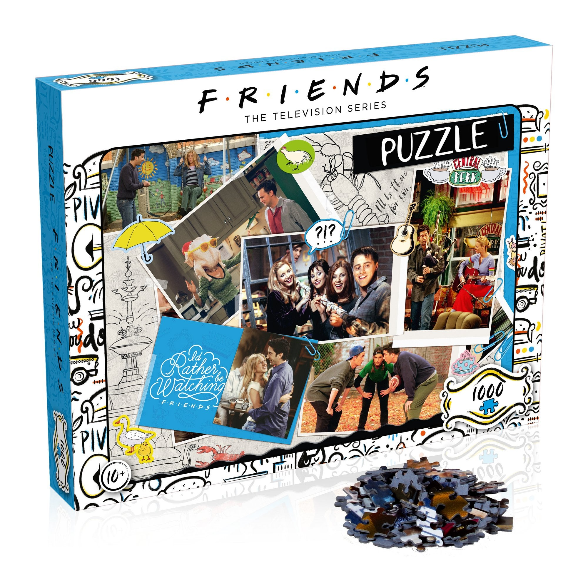 Friends Puzzle Scrapbook  - 1000pc