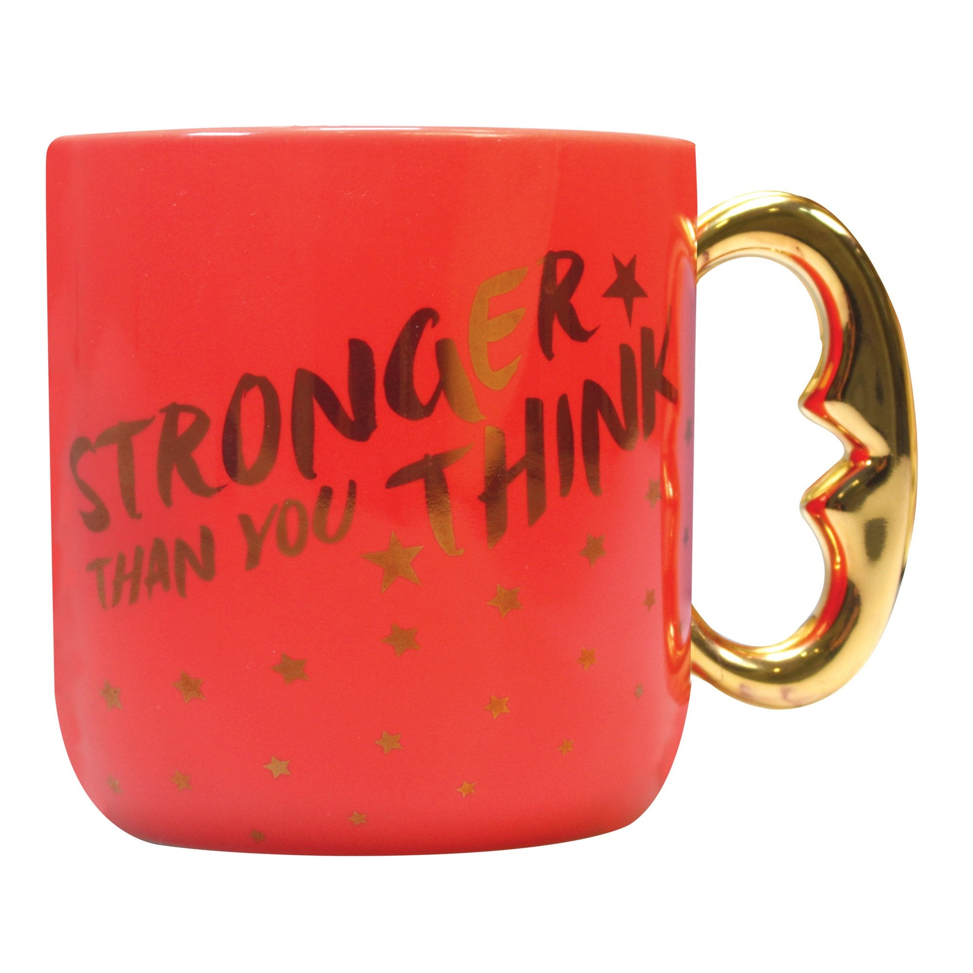 Wonder Woman Shaped Mug -Stronger Than You