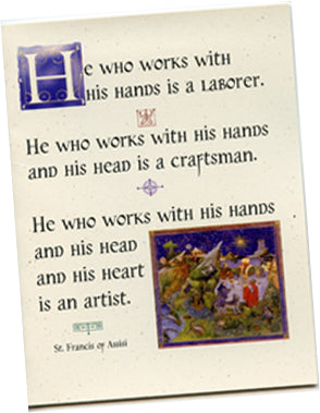 "St. Francis ""Artist"" cards - PatriArts Gallery"