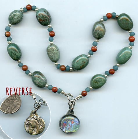 Eligius Necklace/Prayer Beads - PatriArts Gallery - 1