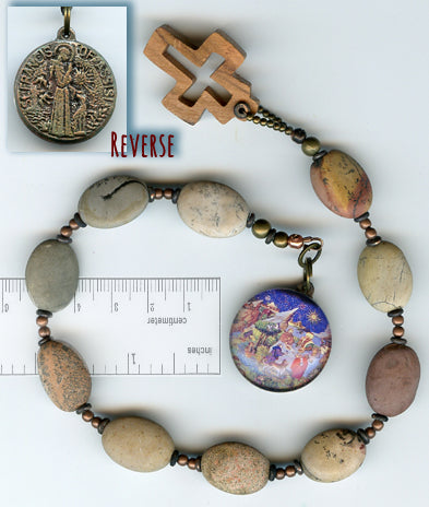 Francis Natural Stone Chaplet - PatriArts Gallery