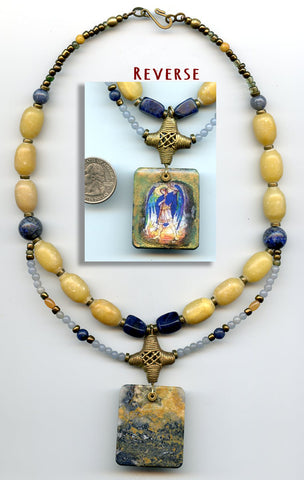 Archangel Michael Pietersite Necklace - PatriArts Gallery - 1