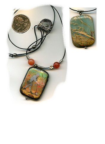 Fiacre Reversible Pendant - PatriArts Gallery