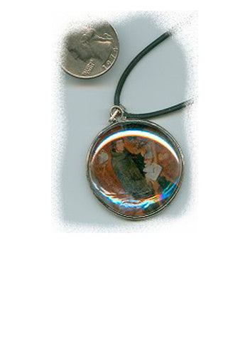 Gregory Glass/Copper Pendant - PatriArts Gallery