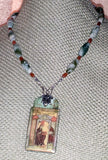 Hildegard von Bingen Evocative Viriditas Necklace - PatriArts Gallery