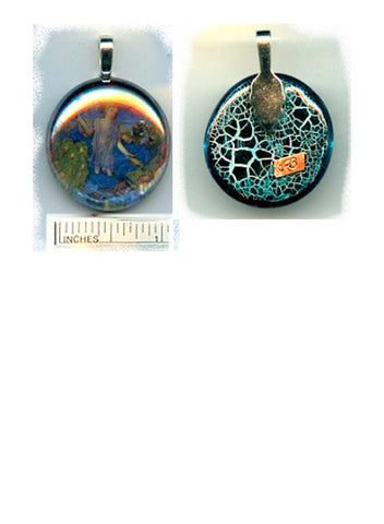 Kevin Iridescent Pendant - PatriArts Gallery