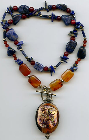 Michael (Archangel)  Versatile Necklace - PatriArts Gallery