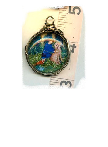 Roch Sterling Wrapped Pendant - PatriArts Gallery