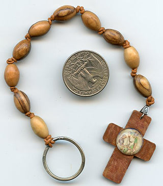St. Joseph Olivewood Chaplet - PatriArts Gallery