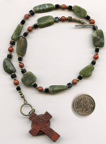 St. Patrick Chaplet/Necklace/Pendant - PatriArts Gallery - 1