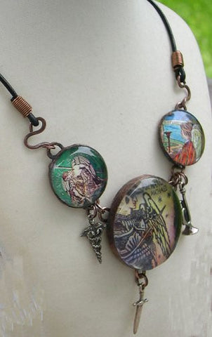 Three Archangels Necklace - PatriArts Gallery