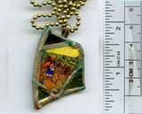 Vincent Bottle Glass Pendant 07 - PatriArts Gallery