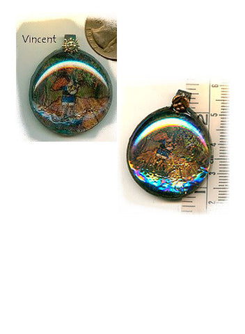 Vincent Iridescent Pendant - PatriArts Gallery