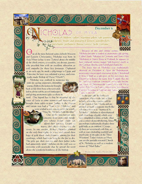 St. Nicholas Scroll