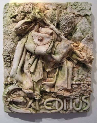 Expeditus Sculpture - PatriArts Gallery