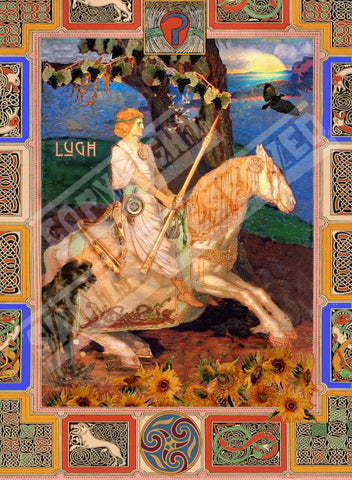 Lugh Tile - PatriArts Gallery