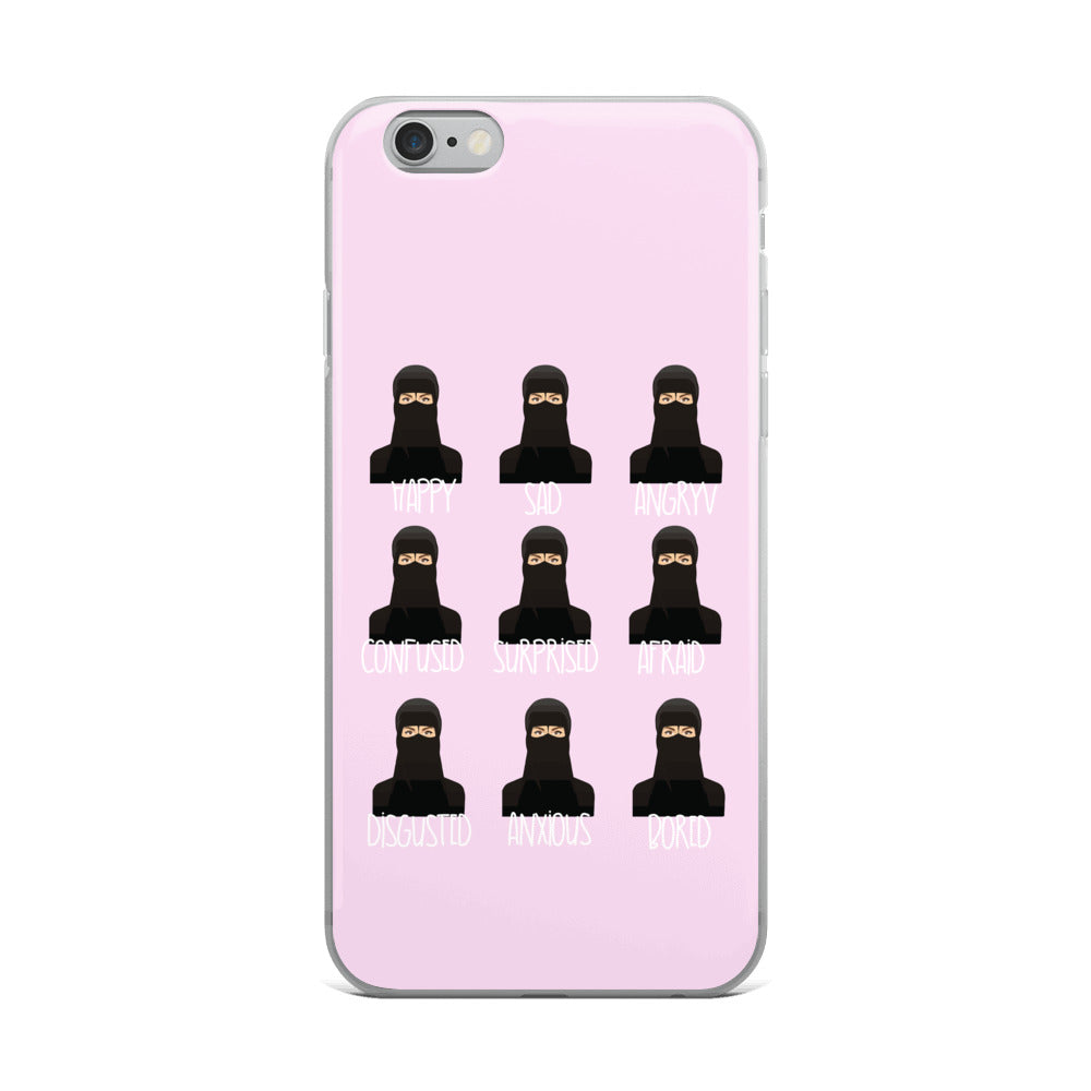Niqab coque iPhone