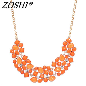 47c779e14f3ce0 Fashion Gold Statement Necklaces & Pendants for Women Collier Femme Vintage  Maxi Necklace Collares Mujer Kolye