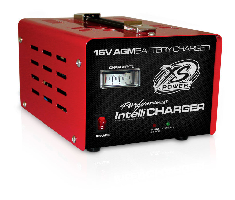16V Battery IntelliCharger, 20A Max