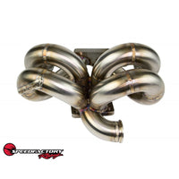 B series SpeedFactory Racing A/C Compatible RamHorn Turbo Manifold
