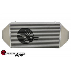 "SpeedFactory HP Dual Backdoor Front Mount Intercooler - 3"" inlet / 3"" Outlet (850HP-1000HP)"