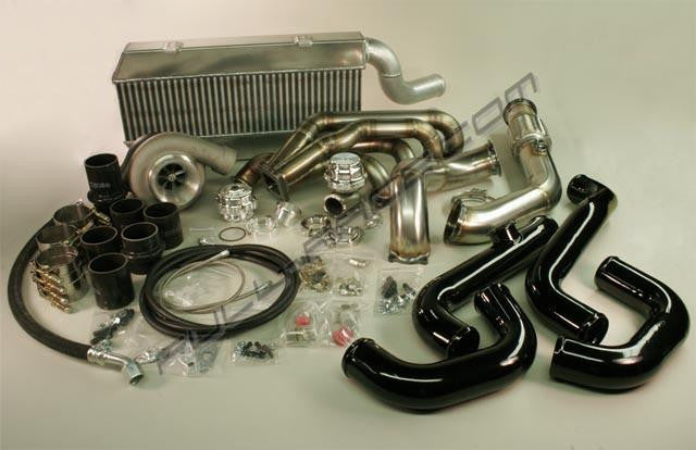 Full Race Honda/Acura K-Series Twin Scroll T4 Turbo Kit