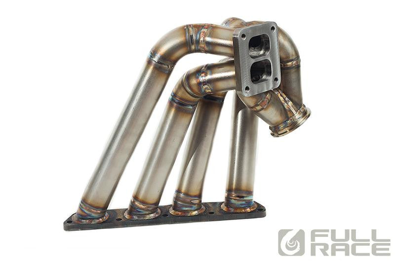 Full-Race Honda B-Series Twin Scroll Forward Facing Drag Turbo Manifold