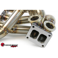 SpeedFactory Racing Forward Facing B-Series Outlaw Turbo Manifold