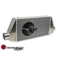 "SpeedFactory HPX Side Inlet/Outlet Universal Front Mount Intercooler - 3"" Inlet / 3.5"" Outlet (1000HP-1200HP)"