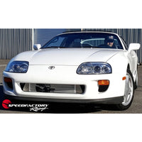 "SpeedFactory Standard Front Mount Intercooler Upgrade for 1993-1998 MKIV Toyota Supra Turbo - 3"" Inlet / 3"" Outlet (Stock to 850HP)"