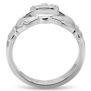 Gorgeous Stainless Steel Claddagh Ring