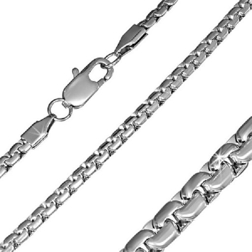 Flashy Trends 4mm Stainless Steel Chain 24''