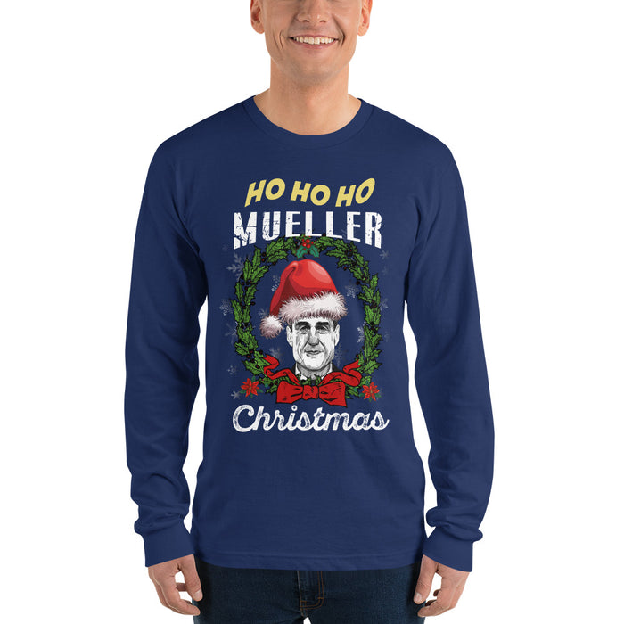 Ho Ho Ho Mueller Christmas Long sleeve t-shirt (unisex)