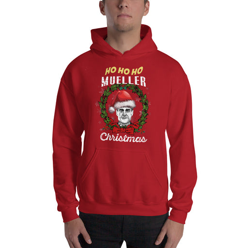 Ho Ho Ho Mueller Christmas Hooded Sweatshirt